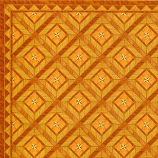 4.Parquet Wood Floor with Border
