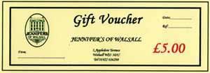 5 Pound Gift Voucher