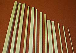 4044 1/8 x 1/8 Bass Strip