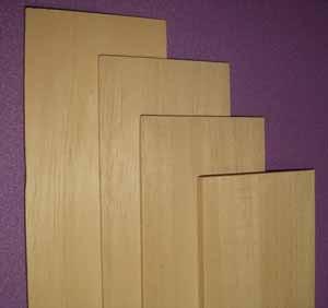 5305 3/16 x 3 x 12 inch Bass Wood