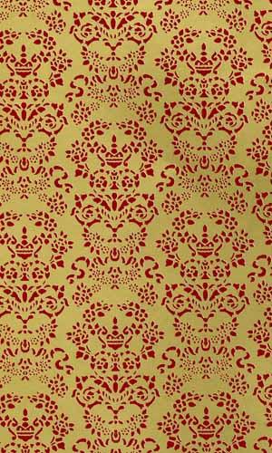 23 Renaissance Gold & Red