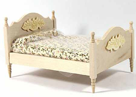 165.Double Bed with Bedding